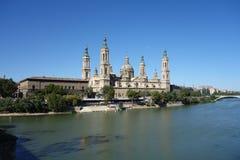La basilica del EL Pilar Immagini Stock Libere da Diritti