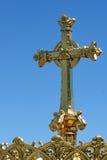La basilica del rosario a Lourdes Immagini Stock