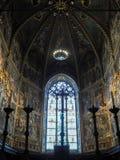 La basilica del santuario della Camera santa di Loreto nell'AIS immagini stock libere da diritti