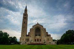 La basilica del santuario nazionale dell'immacolata concezione Fotografia Stock