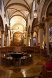 La basilica della cattedrale dello St Francis di Assisi Immagine Stock