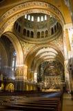 La basilica della st Therese di Lisieux Fotografie Stock