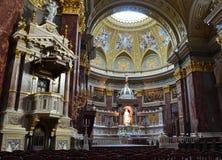 La basilica di Budapest Immagini Stock