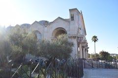 La basilica di Gethsemane fotografia stock libera da diritti