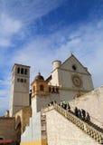 La basilica di San Francesco immagine stock libera da diritti