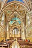 La basilica di San Francesco fotografia stock libera da diritti