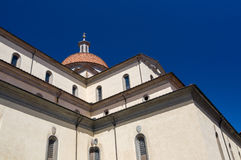 La basilica di Santa Maria del Santo Spirito, Firenze, Italia Immagini Stock