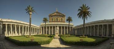 La basilica di St Paul Immagine Stock Libera da Diritti