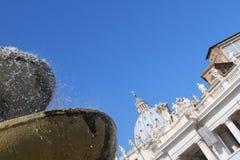 La basilica di St Peter fotografia stock libera da diritti