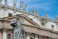 La basilica di St Peter Immagini Stock