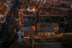 La basilica di St Peter e di St Paul immagine stock libera da diritti