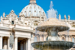La basilica di St Peter, Vaticano, Italia Fotografia Stock