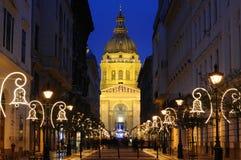 La basilica di St Stephen Immagini Stock Libere da Diritti