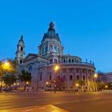 La basilica di St Stephen a Budapest Fotografia Stock Libera da Diritti