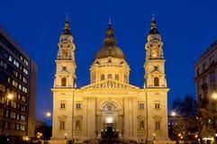 La basilica di St Stephen, Budapest, Ungheria Fotografie Stock Libere da Diritti
