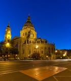La basilica di St Stephen nella città di Budapest Immagine Stock Libera da Diritti