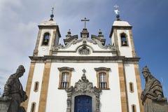 La basilica fa Senhor Bom Jesus de Matosinhos Immagini Stock