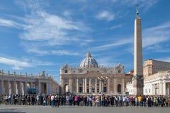 La basilica papale di St Peter Fotografia Stock