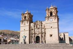 La basilica San Carlos Borromeo della cattedrale Fotografia Stock