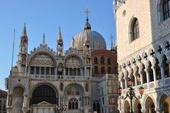 La basilica Venezia di St Mark Fotografia Stock Libera da Diritti