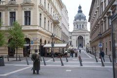 La basilique Budapest de St Stephen Images libres de droits