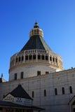 La basilique de l'annonce, Nazareth photo stock