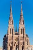 La basilique de Lujan Image libre de droits