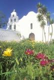 La basilique de mission en San Diego California Image libre de droits