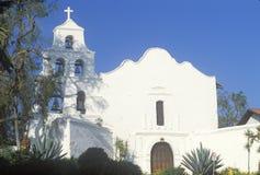 La basilique de mission en San Diego California Photos libres de droits