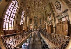 La basilique de notre Madame de lichen photo libre de droits