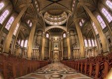 La basilique de notre Madame de lichen photos libres de droits