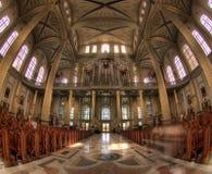 La basilique de notre Madame de lichen photo stock
