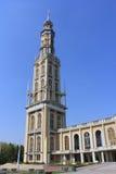 La basilique de notre Madame de lichen en Pologne image stock