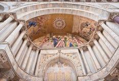 La basilique de repère de saint à Venise photo stock