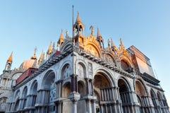 La basilique de repère de saint, Venise, Italie images libres de droits