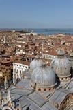 La basilique de San Marco dans le St marque la place à Venise, Italie Église, architecture photo libre de droits