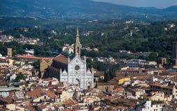 La basilique De Sante Croce image stock