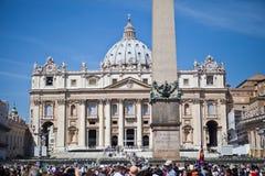 La basilique de St Peter Images stock
