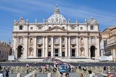 La basilique de St Peter Photographie stock libre de droits