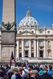 La basilique de St Peter Images libres de droits