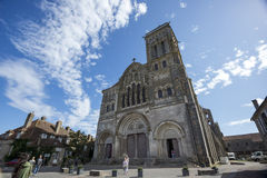 La Basilique de Vezelay Images stock
