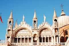 La basilique des Rue-Repères de Venise Photo stock