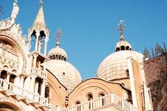 La basilique des Rue-Repères de Venise Images stock
