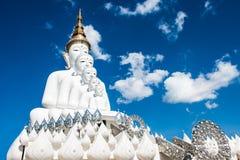 La basilique 5 du Bouddha du temple en verre caché par Pha Photographie stock