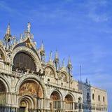 La basilique du repère de rue, Venise, Italie Photo stock