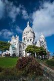 La Basilique du Sacré C�ur de Montmartre in Paris, Royalty Free Stock Images