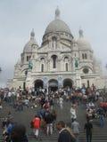 La Basilique du Sacré Cœur de Montmartre Stock Image
