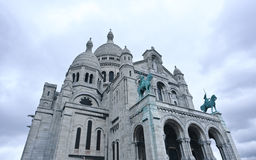 La Basilique du Sacre Coeur Royalty Free Stock Images