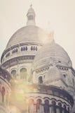 La Basilique du Sacre-Coeur de Montmarte Arkivbild