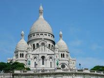 La Basilique du Sacre Coeur i Paris, Frankrike Royaltyfria Foton
